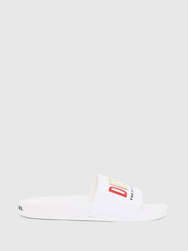 SA-VALLA, White - Slippers