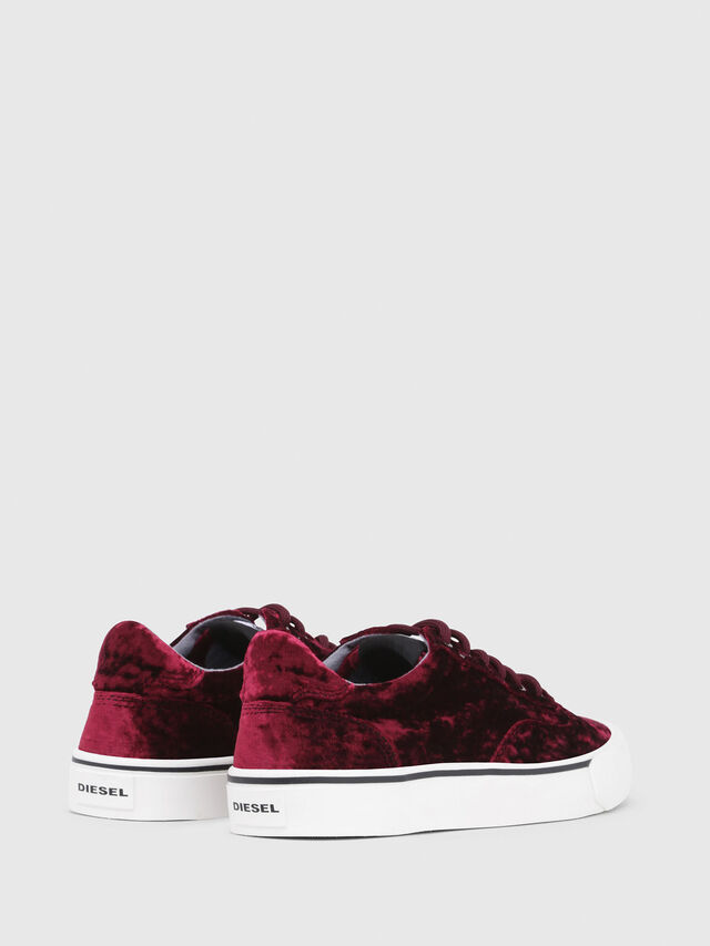 Diesel - S-FLIP LOW W, Bordeaux - Sneakers - Image 3