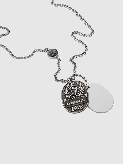 Diesel - DX1106, Silver - Necklaces - Image 2