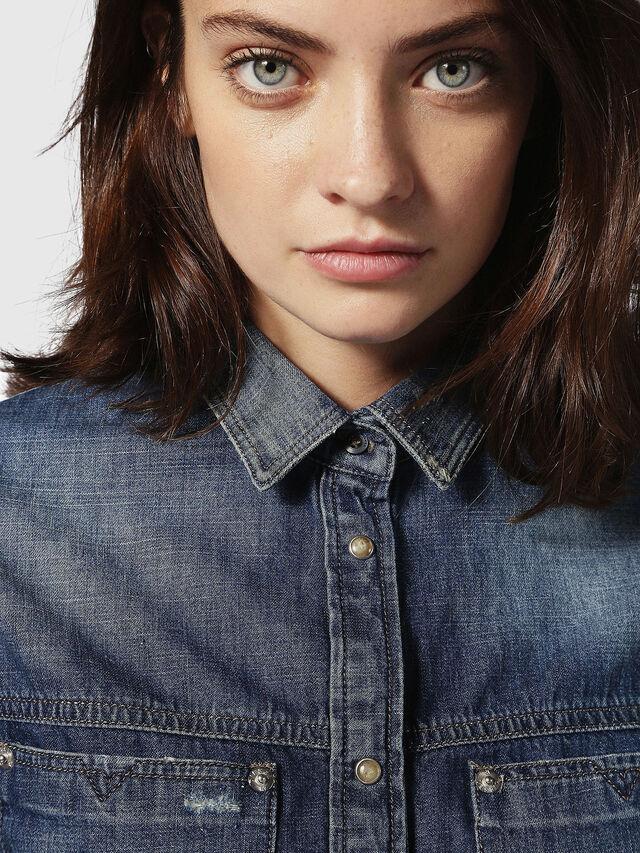 Diesel DE-KERI, Blue Jeans - Denim Shirts - Image 4