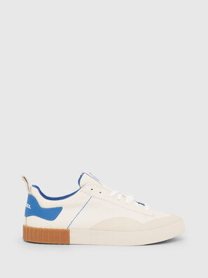 S-BULLY LC, White/Blue - Sneakers