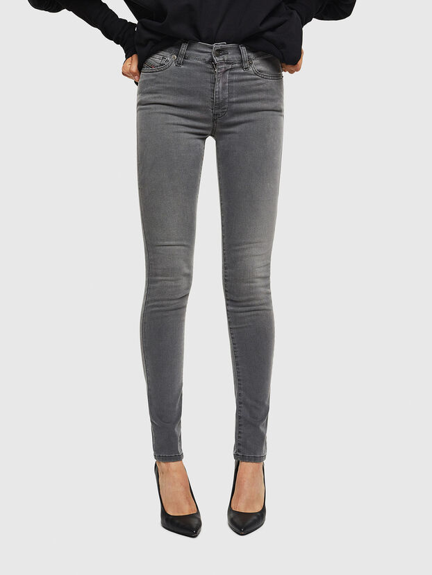 D-Roisin 069JN, Light Grey - Jeans