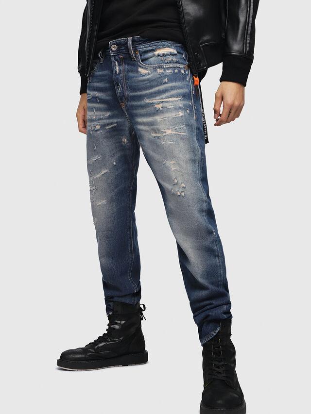 Diesel - Buster 088AQ, Dark Blue - Jeans - Image 1