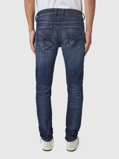 Diesel - Sleenker 09A85, Dark Blue - Jeans - Image 2