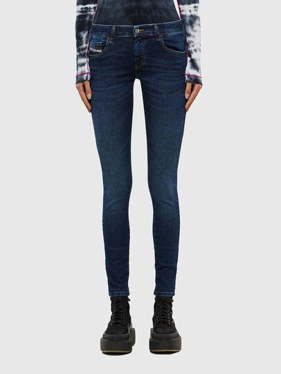 Diesel - Slandy Low 069PX, Dark Blue - Jeans - Image 1