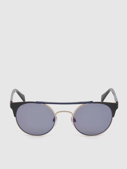 Diesel - DL0218, Black/Blue - Sunglasses - Image 1
