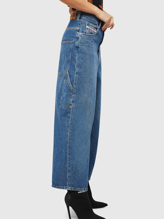 Diesel - D-Luite 080AN, Medium blue - Jeans - Image 5