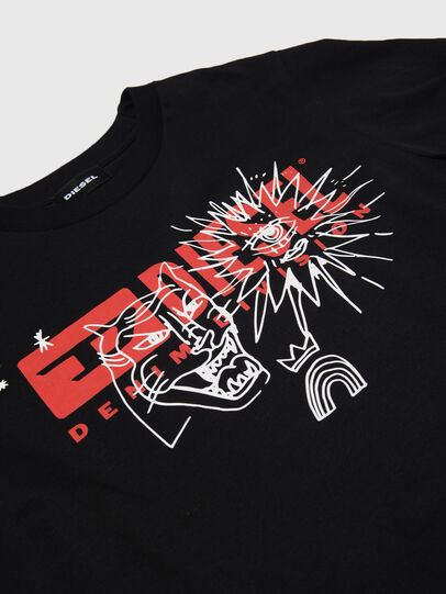 Diesel - TUDARI, Black - T-shirts and Tops - Image 3
