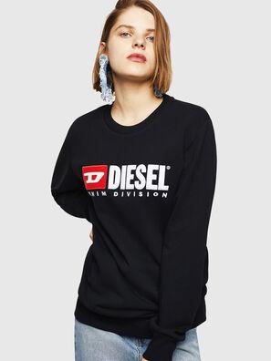 F-GIR-DIVISION-FL, Black - Sweaters