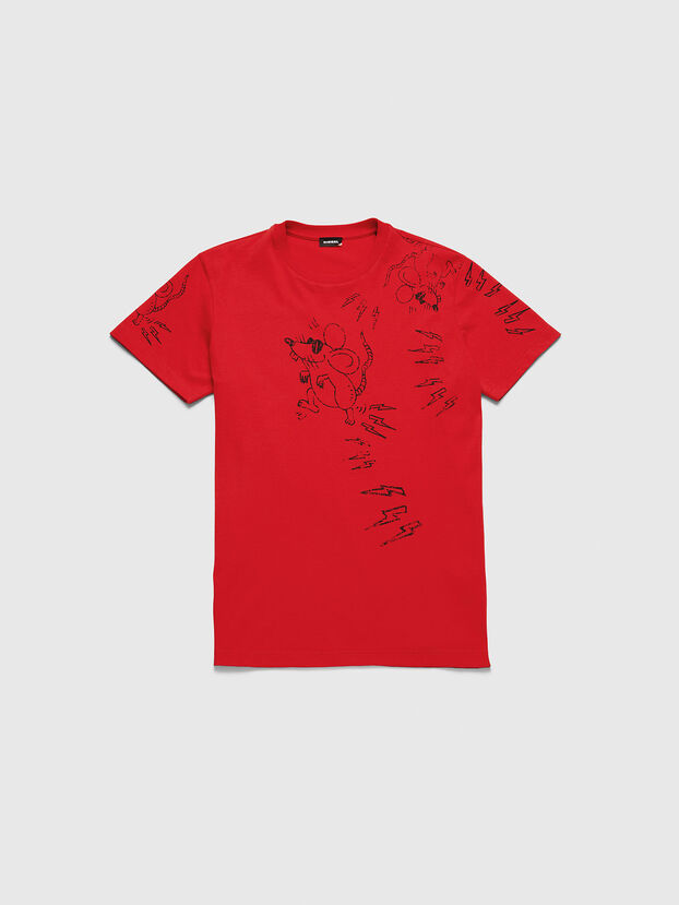 CL-T-DIEGO-3, Red - T-Shirts