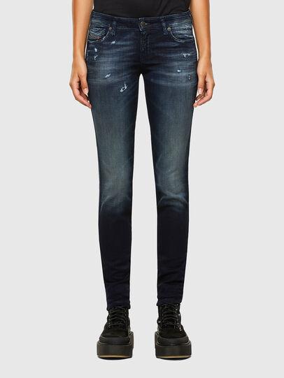 Diesel - GRACEY JoggJeans® 069PZ, Dark Blue - Jeans - Image 1