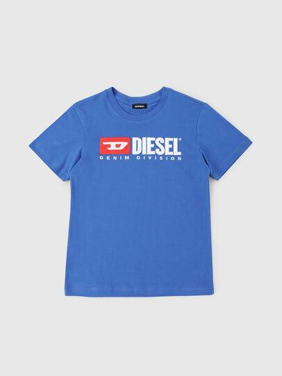 Diesel - TJUSTDIVISION, Cerulean - T-shirts and Tops - Image 1
