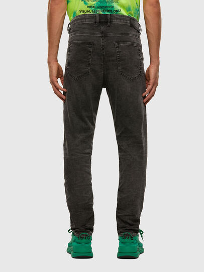 Diesel - D-Vider JoggJeans 009FZ, Black/Dark grey - Jeans - Image 2