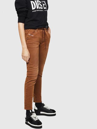 Diesel - Krailey JoggJeans 0670M, Brown - Jeans - Image 6