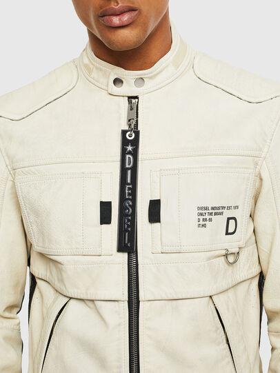 Diesel - L-DIXON,  - Leather jackets - Image 3