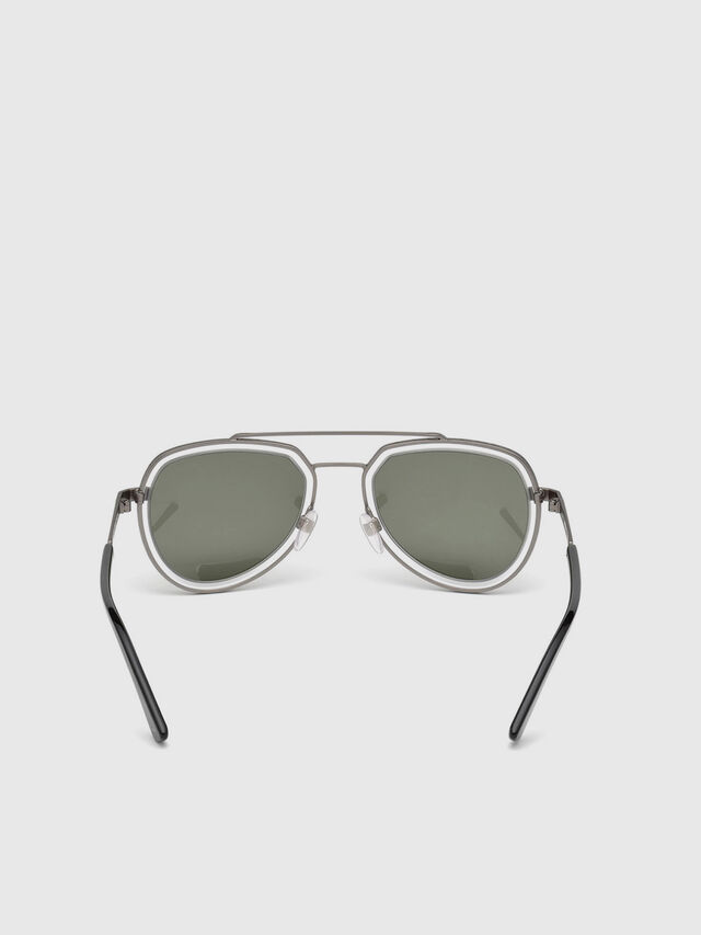 Diesel - DL0266, Black/Grey - Sunglasses - Image 4