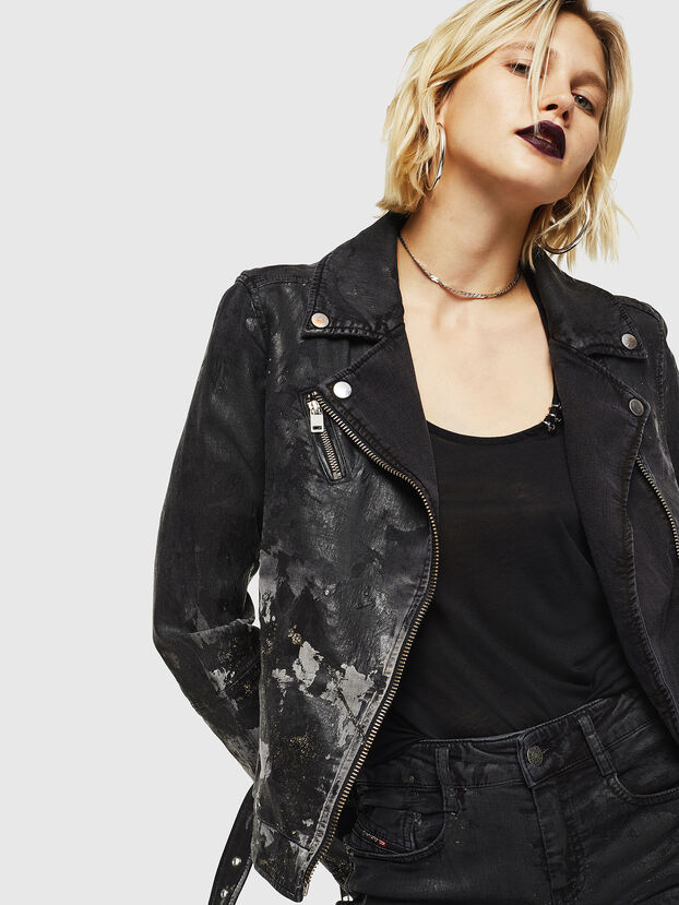 KERBIZ-SP JOGGJEANS, Black/Dark grey - Denim Jackets