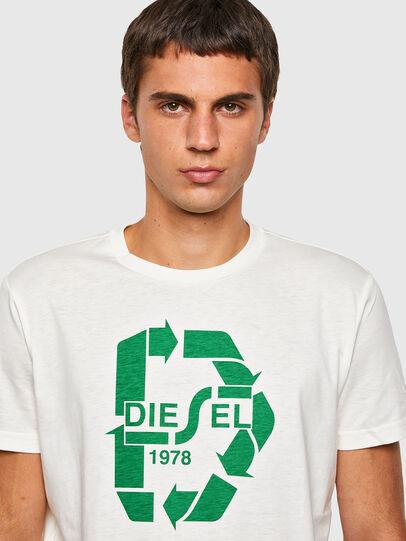 Diesel - T-DIEGOS-N23, White - T-Shirts - Image 3