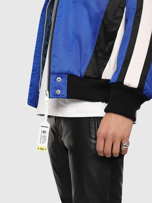 Diesel - J-RYUU, Blue - Jackets - Image 4