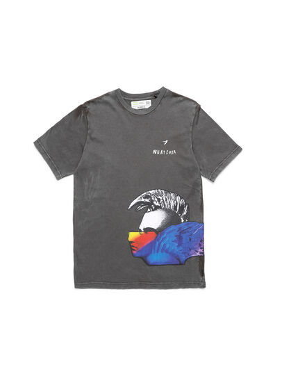 Diesel - D-5055-G, Black - T-Shirts - Image 1