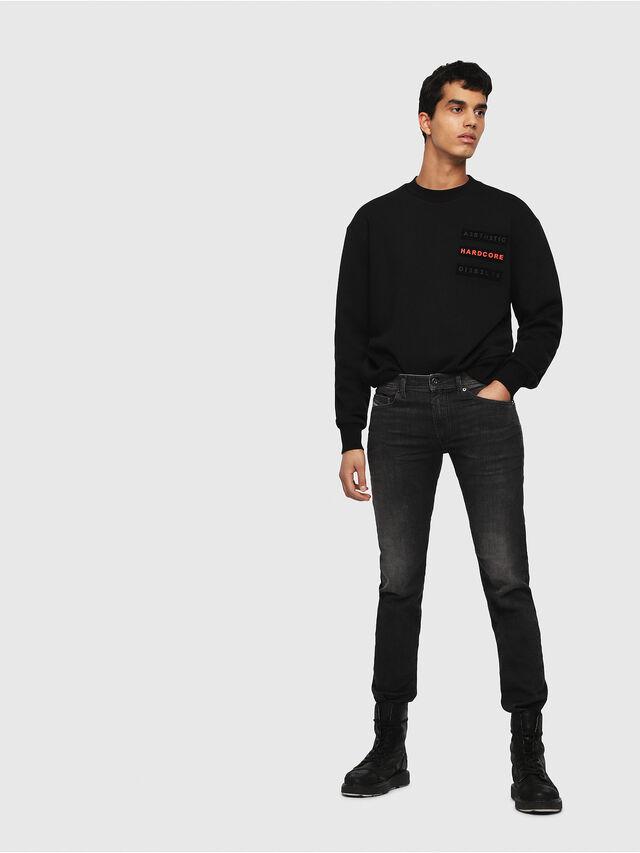 Diesel - Thommer 0687J, Black/Dark grey - Jeans - Image 4