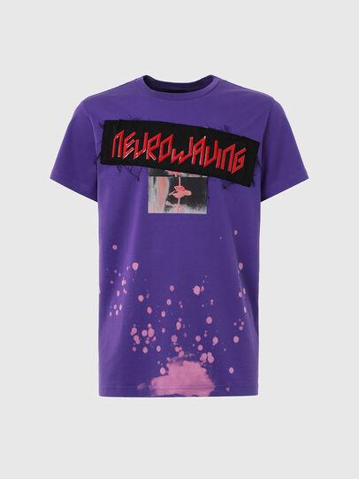 Diesel - T-AIRO, Violet - T-Shirts - Image 1