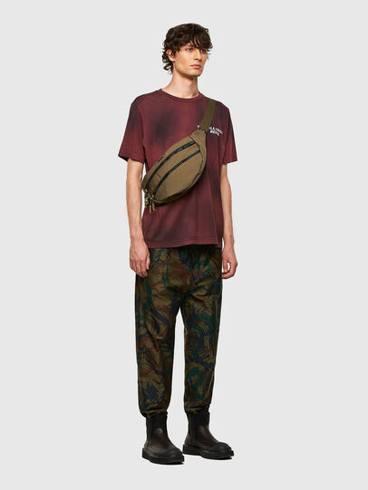 Diesel - F-URBHANITY BUMBAG, Military Green - Belt bags - Image 6