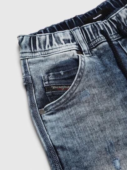 Diesel - KROOLEY-NE-J SH, Light Blue - Shorts - Image 3