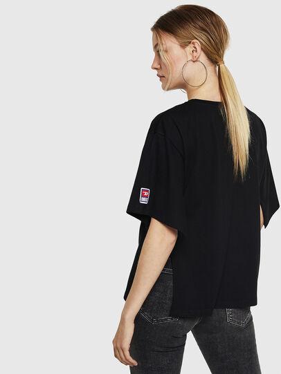 Diesel - T-JACKY-I, Black - T-Shirts - Image 2