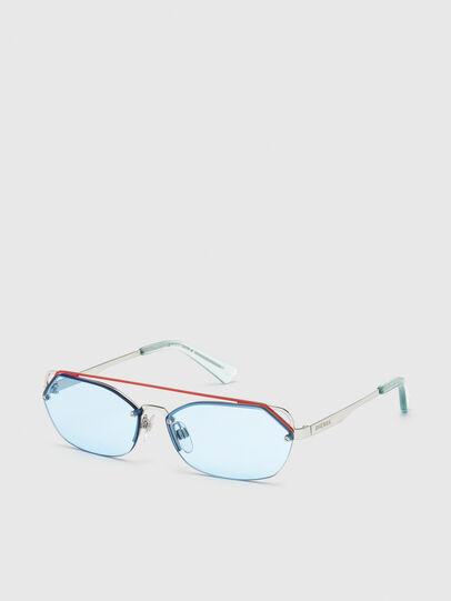 Diesel - DL0313, White/Red - Sunglasses - Image 2