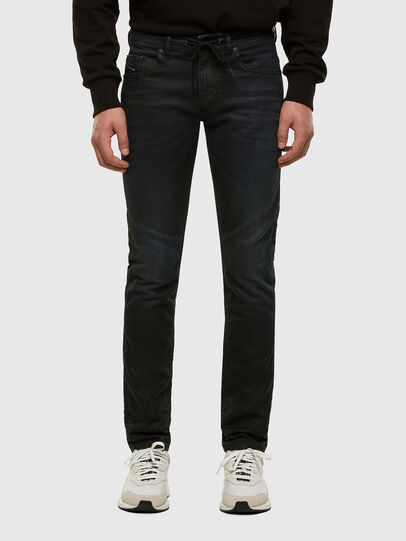 Diesel - Thommer JoggJeans 069NY, Dark Blue - Jeans - Image 1