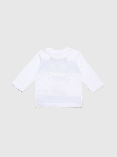 Diesel - TOLIB, White/Blue - T-shirts and Tops - Image 2