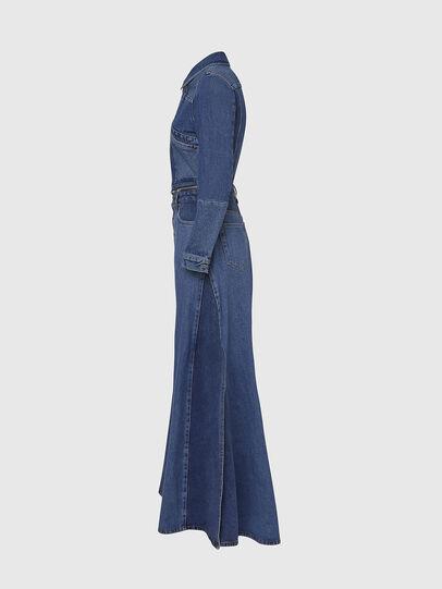 Diesel - DE-BLOCHY, Medium blue - Denim Jackets - Image 3