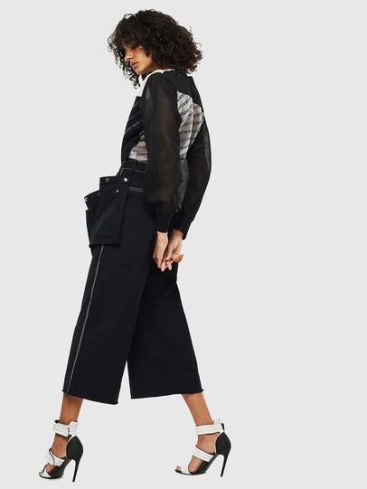 Diesel - M-COPI, Black/White - Knitwear - Image 6