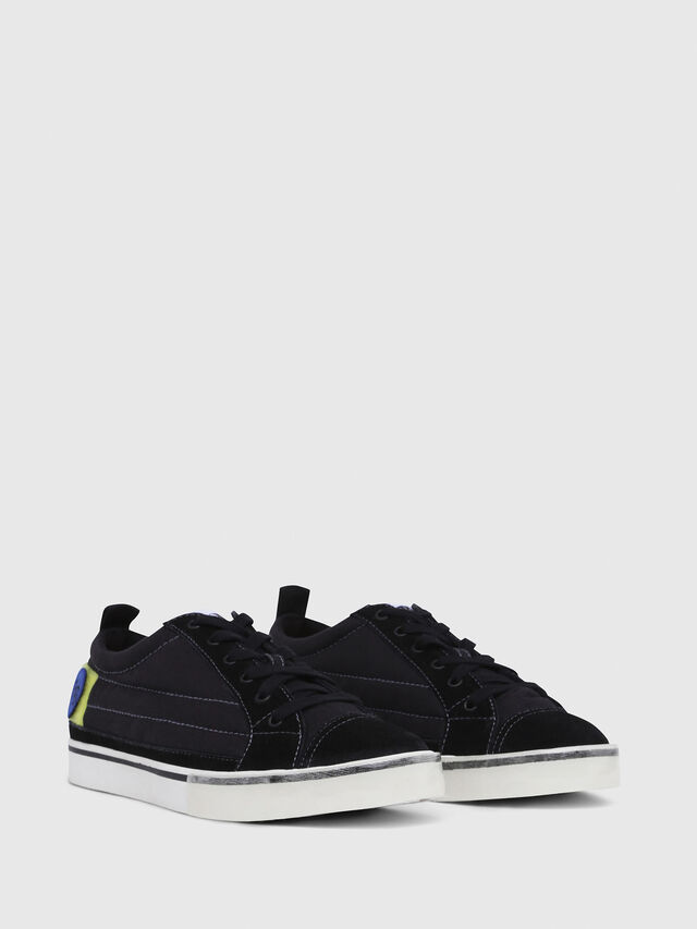 Diesel - D-VELOWS LOW PATCH, Black - Sneakers - Image 2