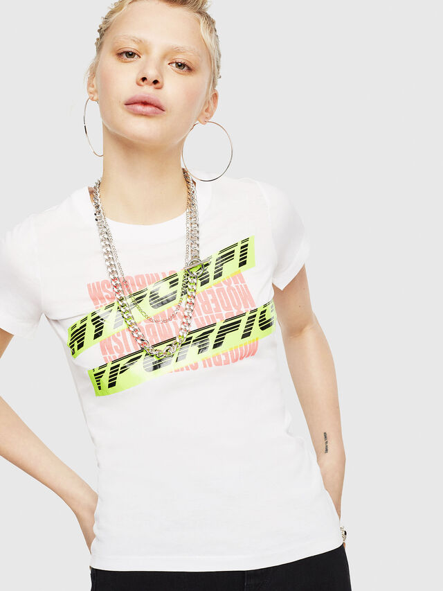 Diesel - T-SUPERY-C, White - T-Shirts - Image 1