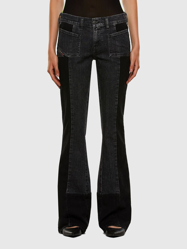 D-Ebbey 009IM, Black/Dark grey - Jeans