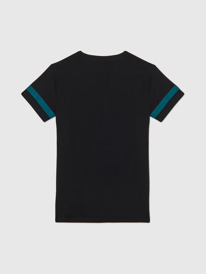Diesel - UFTEE-CHEERLY, Black/Blue - T-Shirts - Image 2
