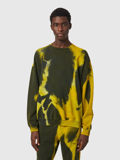 Diesel - S-MART-RIB, Yellow/Green - Sweaters - Image 1