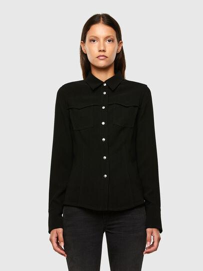 Diesel - C-SANDY, Black - Shirts - Image 1