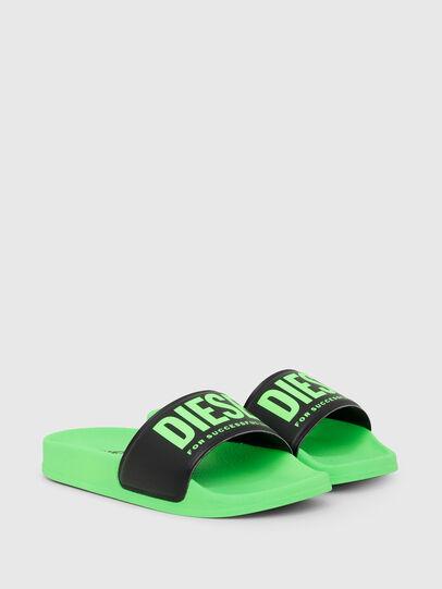 Diesel - SA-MAYEMI CH, Green/Black - Footwear - Image 2