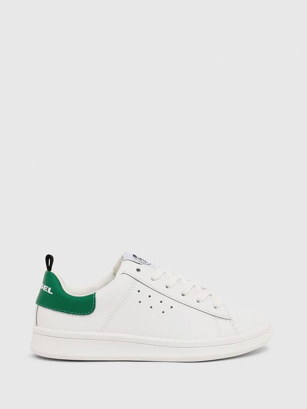 SN LOW LACE 11 FULL, White/Green - Footwear
