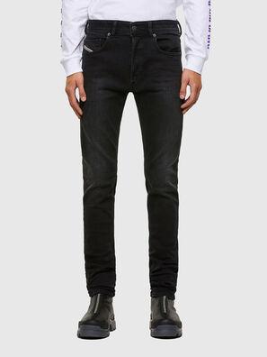 Sleenker 009DH, Black/Dark grey - Jeans