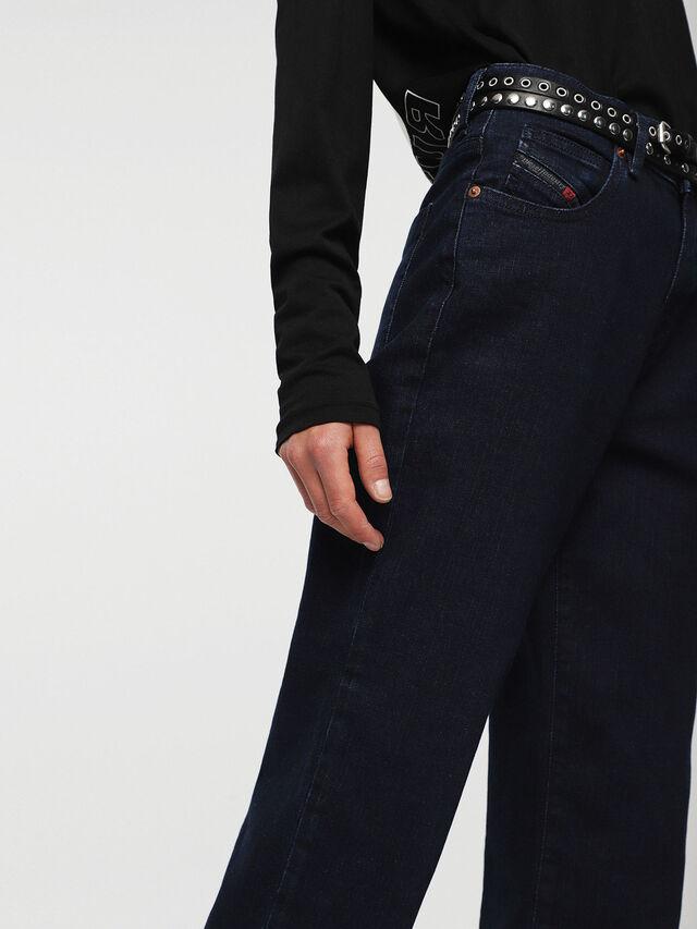 Diesel - Niclah 084CG, Dark Blue - Jeans - Image 4