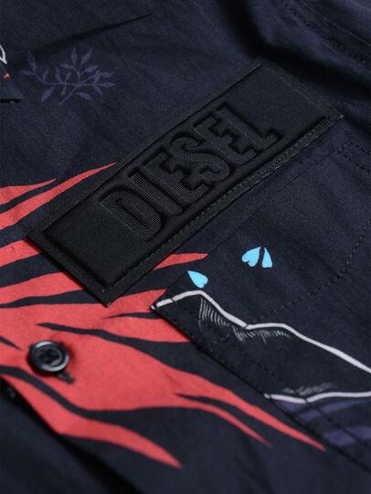 Diesel - CSFRYFLOW, Black - Shirts - Image 3