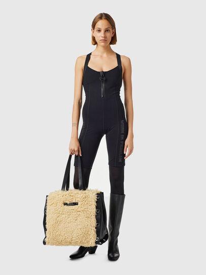 Diesel - TRESI, Beige - Shopping and Shoulder Bags - Image 6