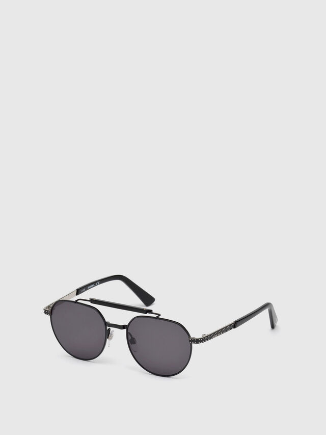 Diesel - DL0239, Black - Sunglasses - Image 4