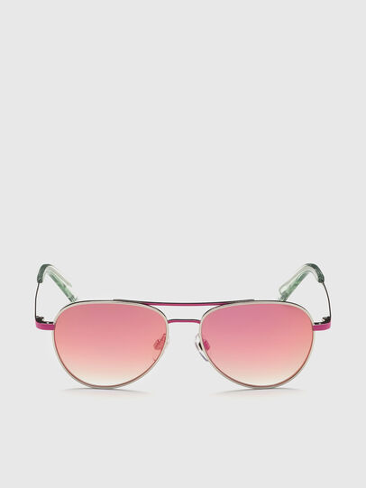 Diesel - DL0291, Pink/White - Kid Eyewear - Image 1