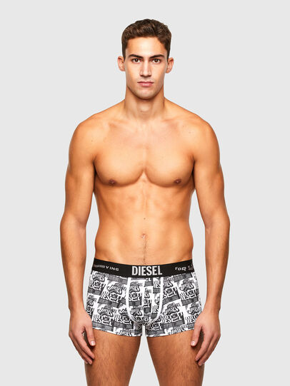 Diesel - UMBX-DAMIEN, White/Black - Trunks - Image 1