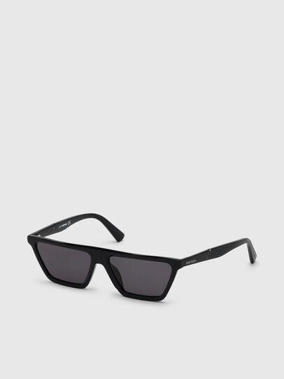 Diesel - DL0304, Black - Sunglasses - Image 2